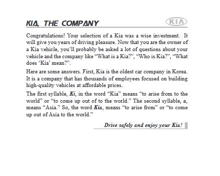2017 Kia Sedona Owner's Manual Image