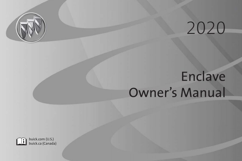 2020 Buick Enclave Owner's Manual Image