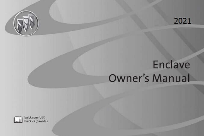 2021 Buick Enclave Owner's Manual Image