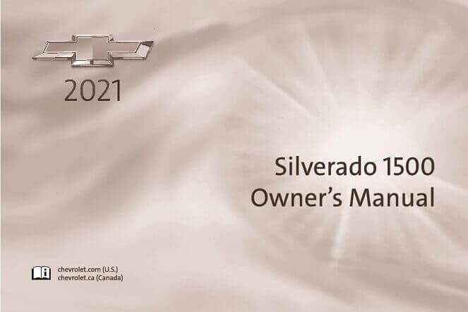 2021 Chevrolet Silverado 1500 Owner's Manual Image
