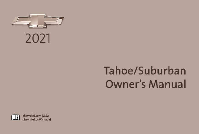 2021 Chevrolet Tahoe/Suburban Owner's Manual Image