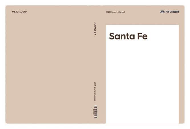 2021 Hyundai Santa Fe Owner's Manual Image