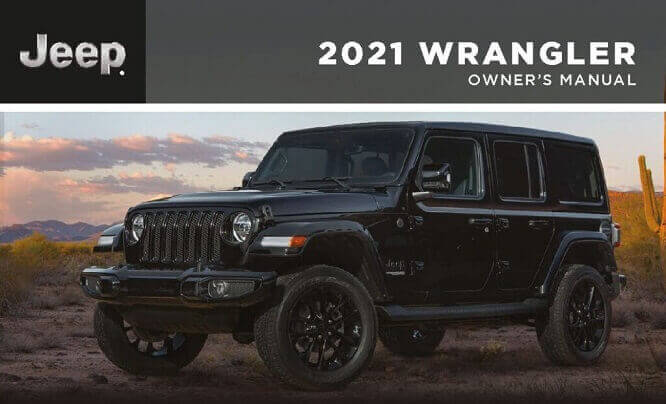 2021 Jeep Wrangler Owner's Manual Image