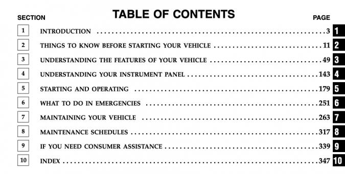 2006 Jeep Wrangler Owner's Manual Image