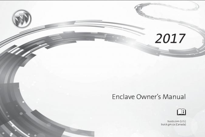 2017 Buick Enclave Owner's Manual Image