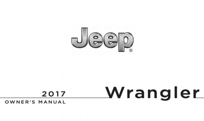 2017 Jeep Wrangler Owner's Manual Image