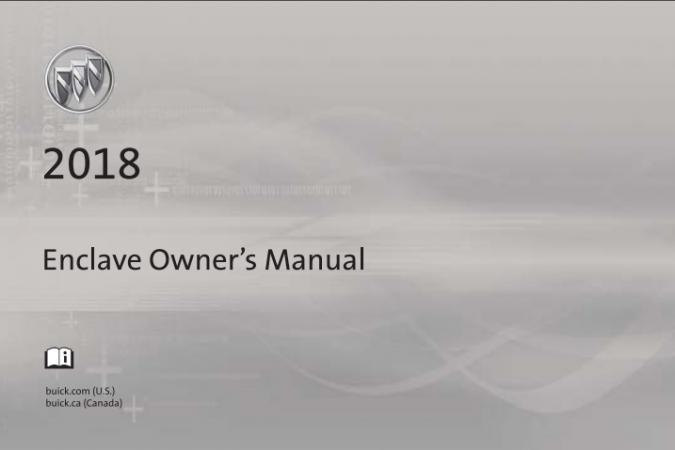 2018 Buick Enclave Owner's Manual Image