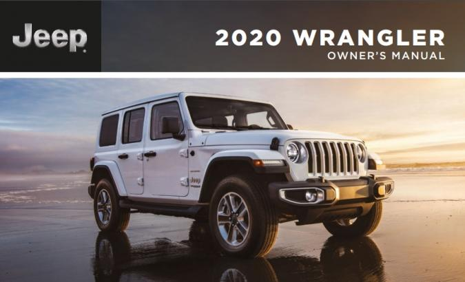 2020 Jeep Wrangler Owner's Manual Image