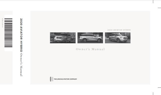 2020 Lincoln Aviator Hybrid Owner's Manual Image