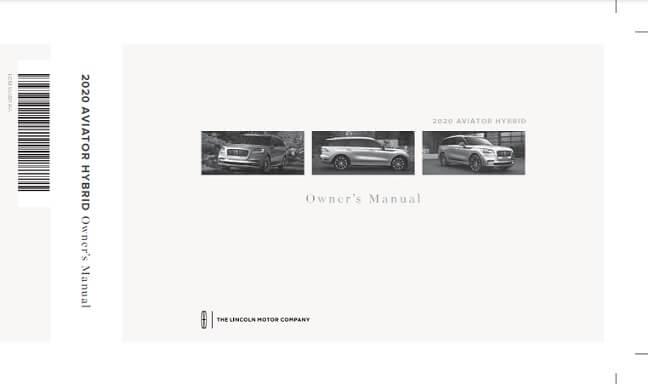 2021 Lincoln Aviator Hybrid Owner's Manual Image